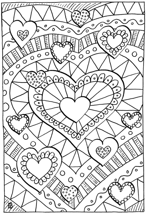 coloring pages for adults heart heart hearts coloring pages colouring adult detailed for pages coloring adults heart