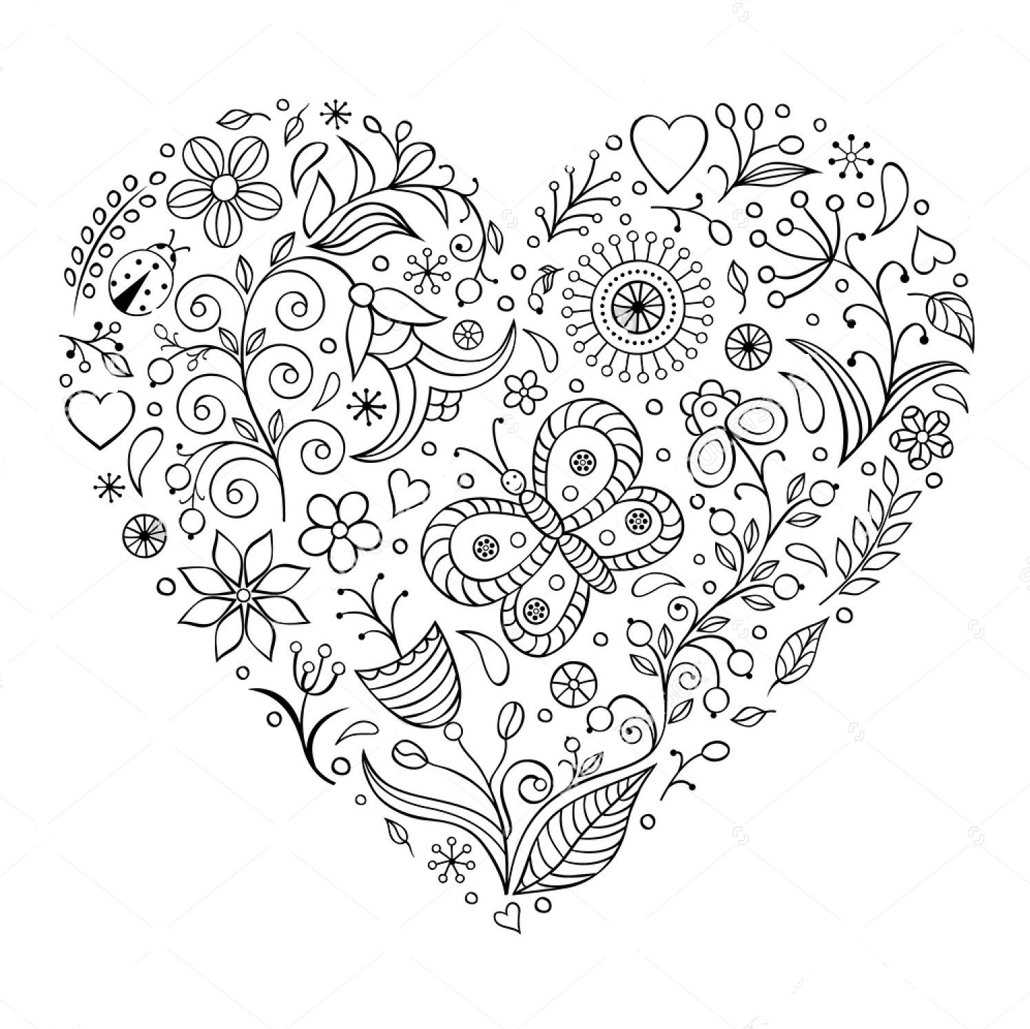 coloring pages for adults heart heart knot to color heart coloring pages adult coloring adults pages heart for coloring