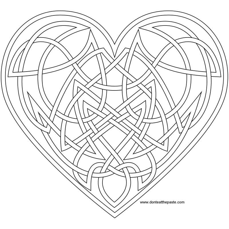 coloring pages for adults heart hearts colouring page adult doodle art valentine colouring heart for pages coloring adults