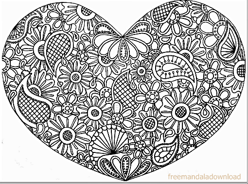 coloring pages for adults heart pin by ceciley marlar on hearts love coloring pages pages coloring heart adults for
