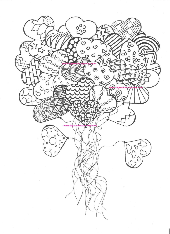 coloring pages for adults heart quotpour prendre mon envolquot coloring book agenda 2016 on behance pages heart adults coloring for