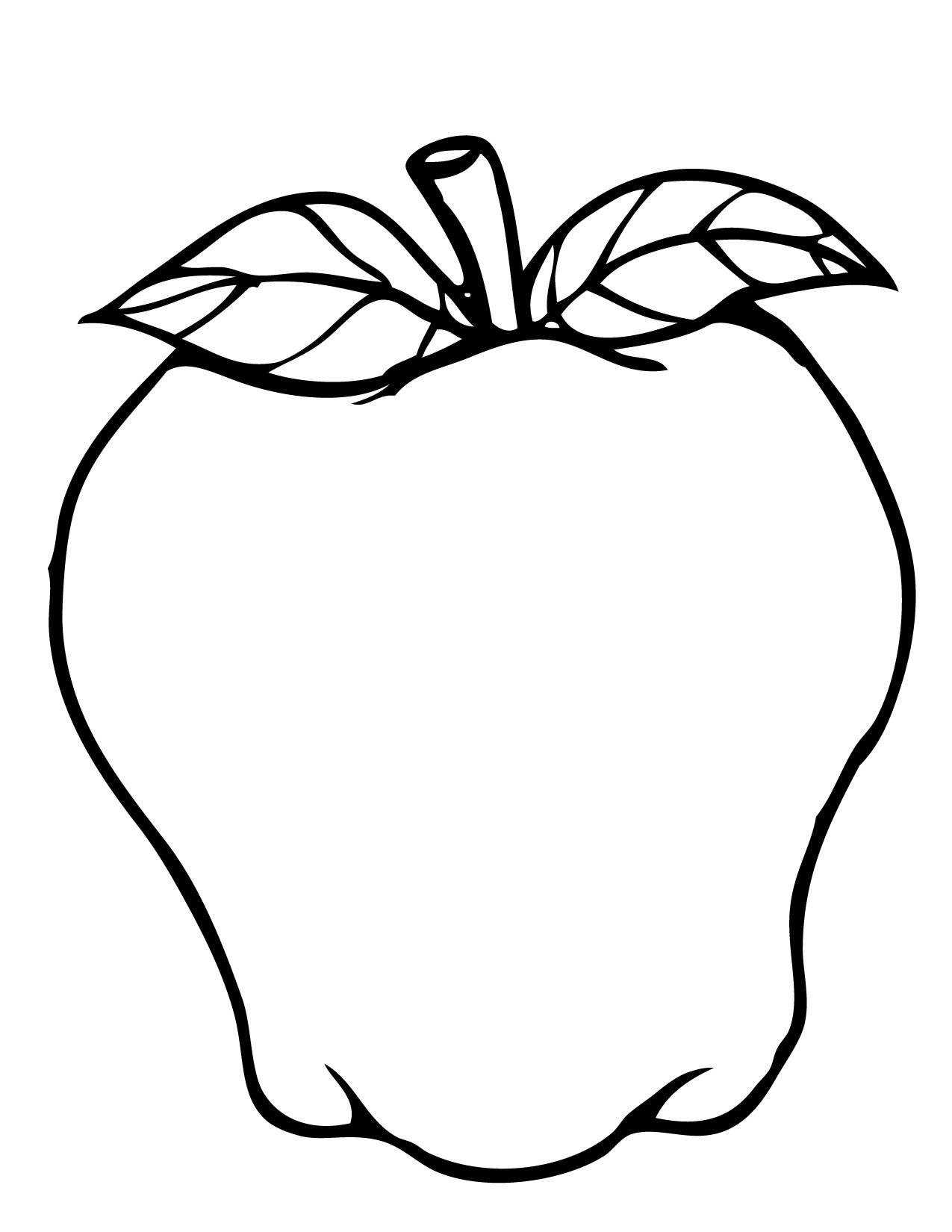 coloring pages for apples half apple drawing at getdrawingscom free for personal pages for apples coloring