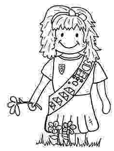 coloring pages for girl scouts 29 best images about girl scout graphics on pinterest scouts girl pages for coloring
