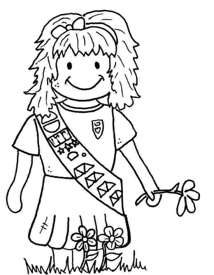 coloring pages for girl scouts 487 best images about girl scouts on pinterest scouts pages for girl coloring scouts