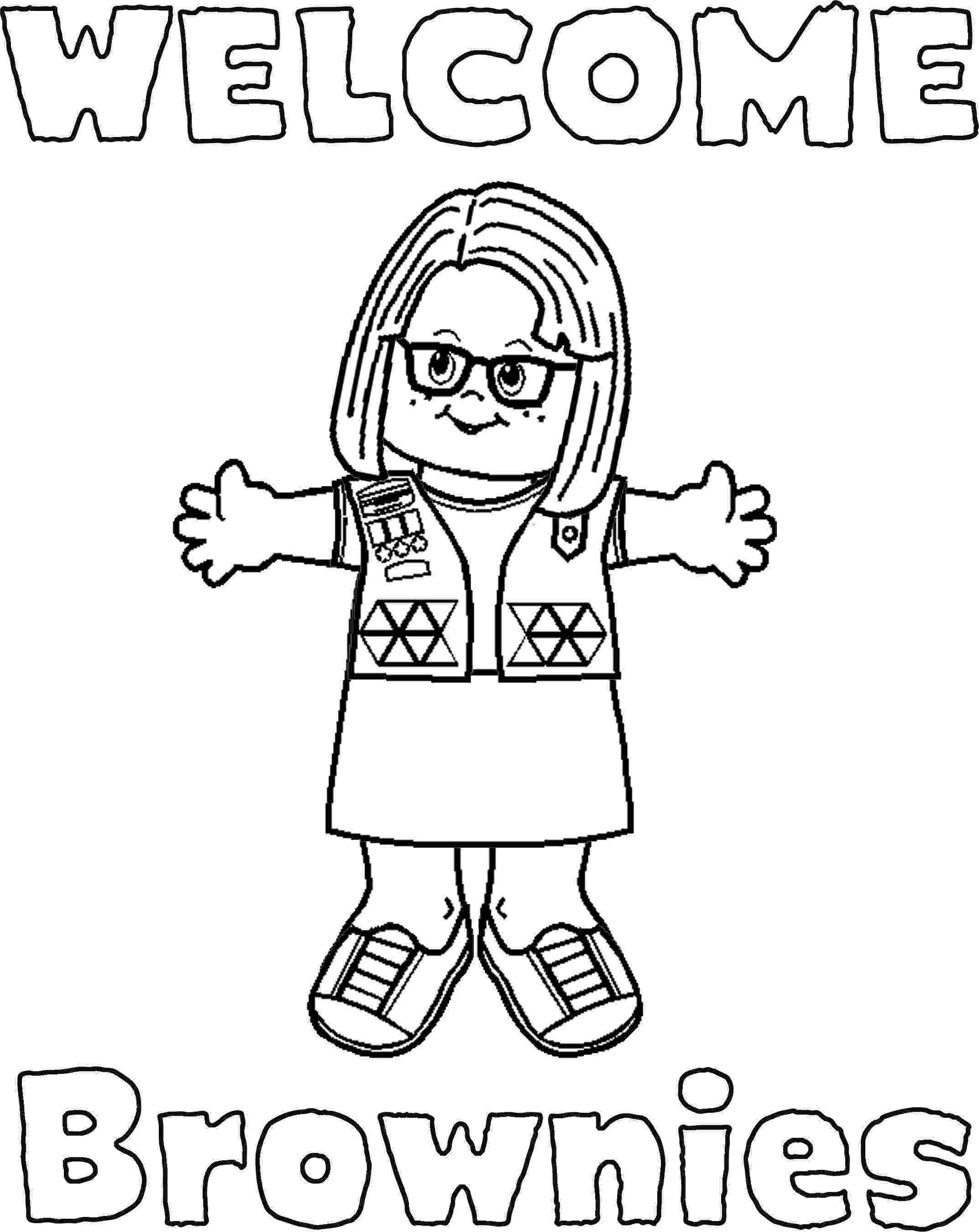 coloring pages for girl scouts brownie girl scout coloring pages girl scout logo pages scouts girl for coloring