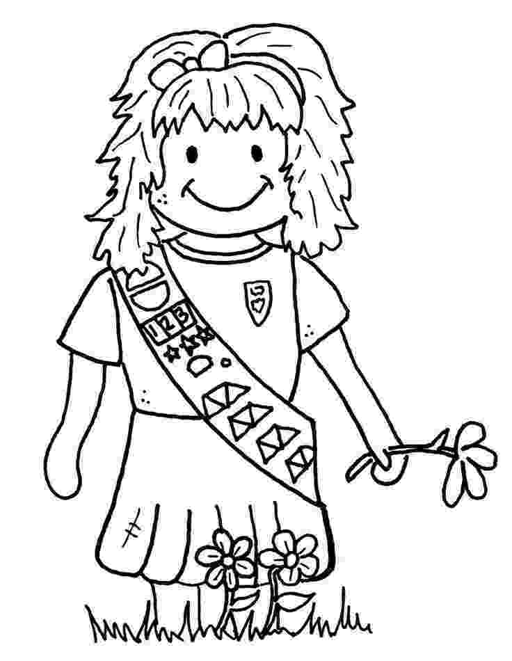 coloring pages for girl scouts daisy violet petal be a sister coloring page scouts girl pages for coloring