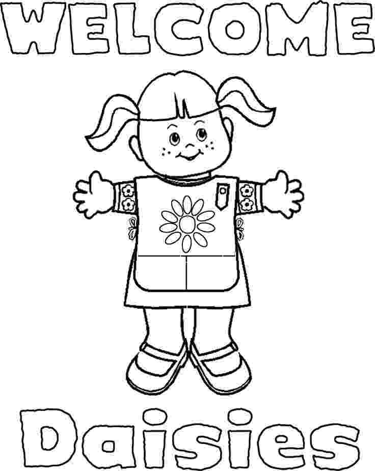 coloring pages for girl scouts free printable girl scout coloring pages for kids cool2bkids coloring scouts for pages girl