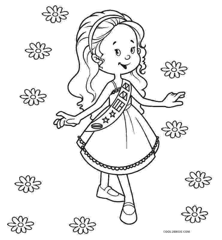 coloring pages for girl scouts free printable girl scout coloring pages for kids cool2bkids pages coloring scouts girl for