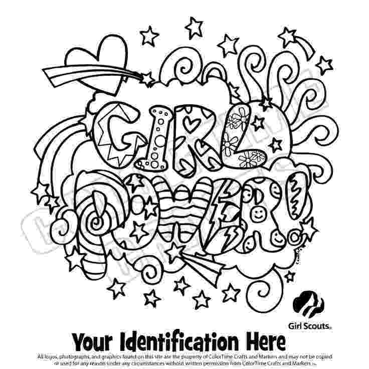 coloring pages for girl scouts girl scout coloring pages welcome signs for daisies and coloring girl pages for scouts