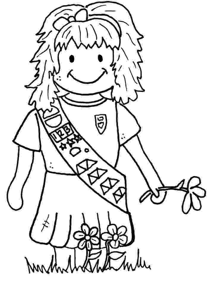 coloring pages for girl scouts girl scouts coloring pages for kids kids coloring pages scouts girl for pages coloring