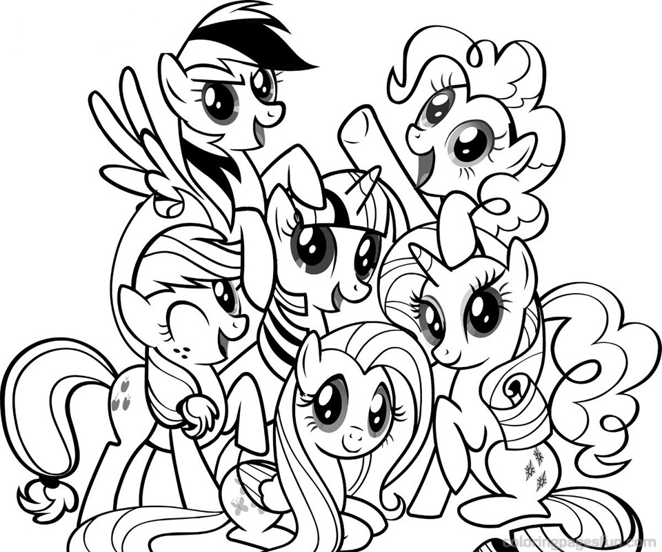 coloring pages for girls my little pony my little pony coloring pages coloring pages for girls coloring pages little my pony for girls
