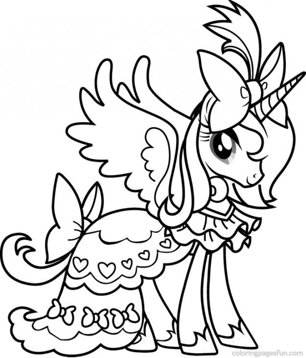 coloring pages for girls my little pony princess cadence from my little pony coloring pages pages pony coloring little my for girls