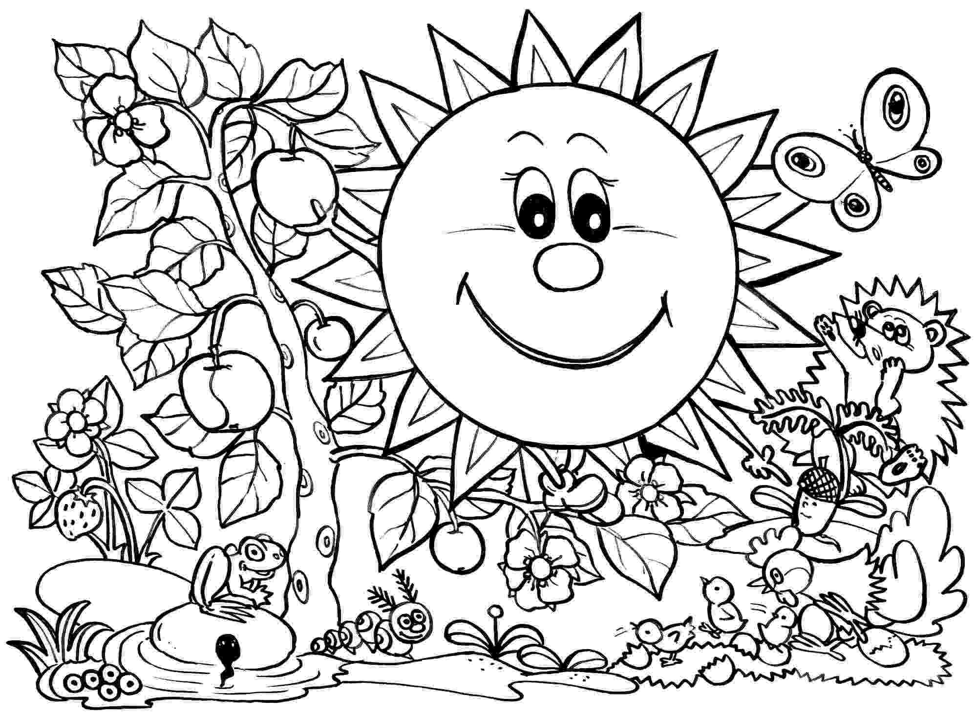 coloring pages for spring spring coloring contest by yampuff on deviantart spring for pages coloring