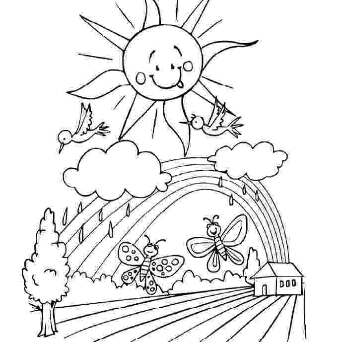 coloring pages for spring topsy turvy land activities coloring pages poetry and for coloring spring pages