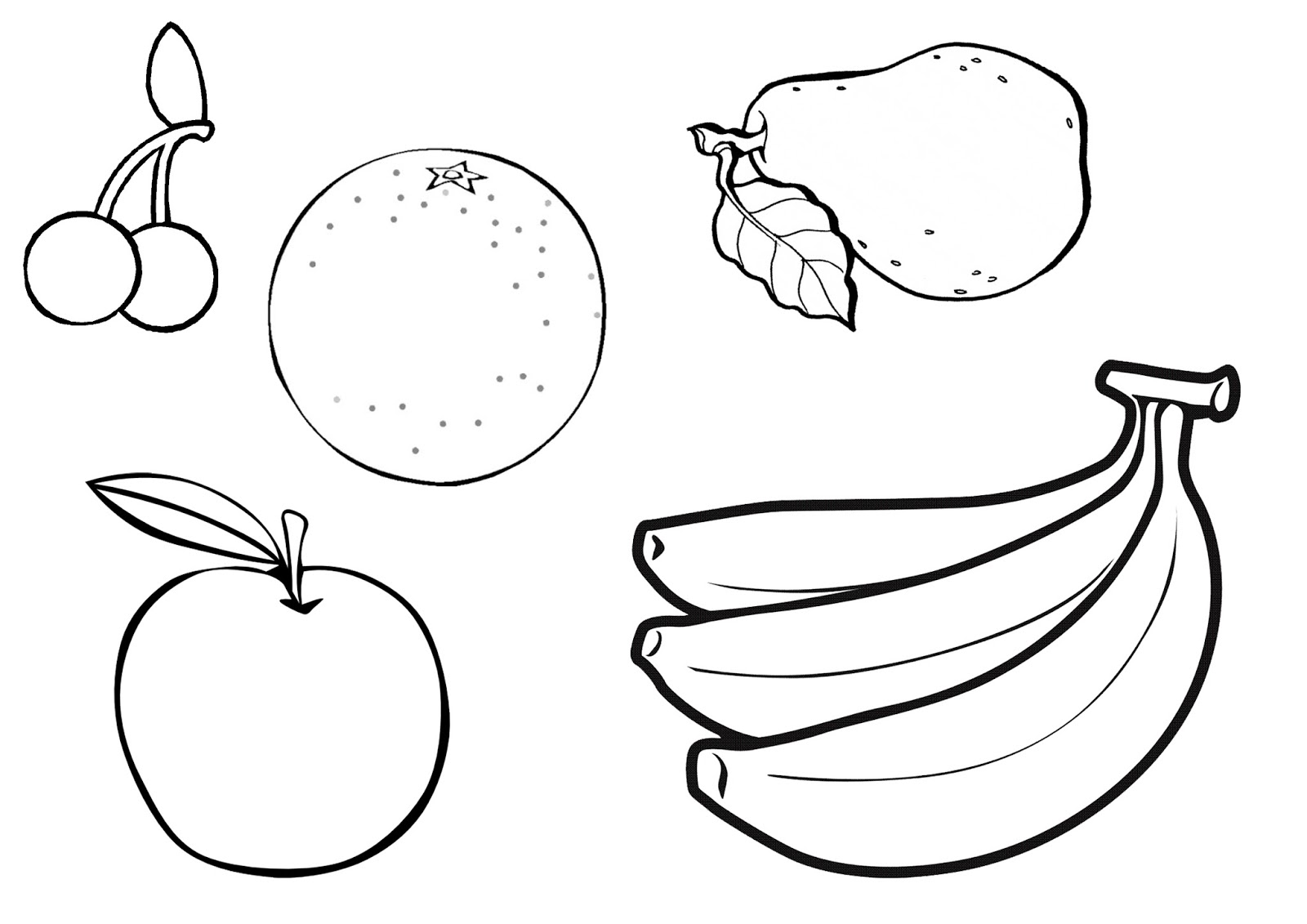 coloring pages fruit printable healthy eating chart coloring pages fruit pages coloring