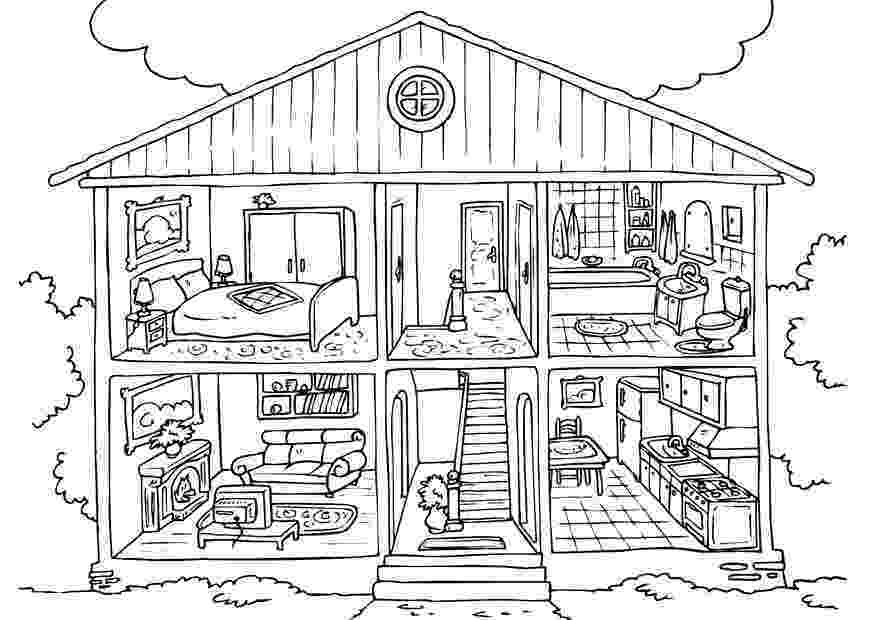 coloring pages house free printable house coloring pages for kids coloring pages house 1 1