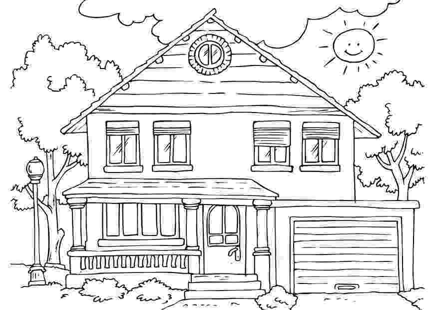 coloring pages house free printable house coloring pages for kids house coloring pages