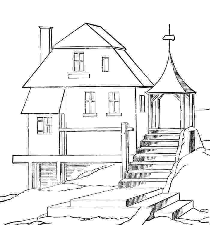 coloring pages house ginger bread house coloring book free stock photo public coloring pages house