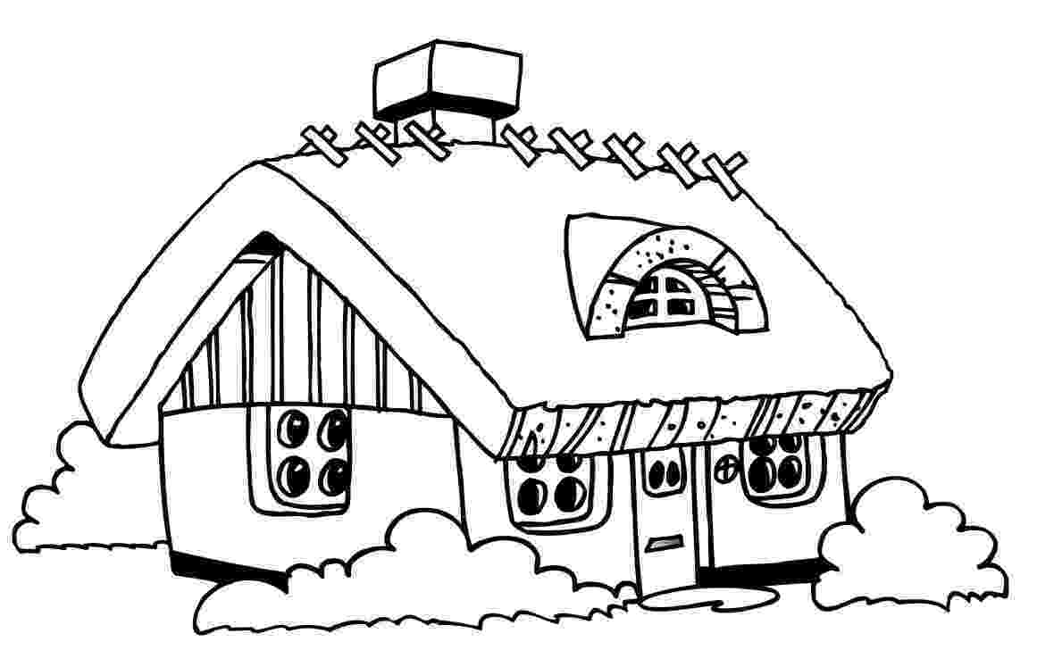 coloring pages house house coloring pages to download and print for free pages coloring house