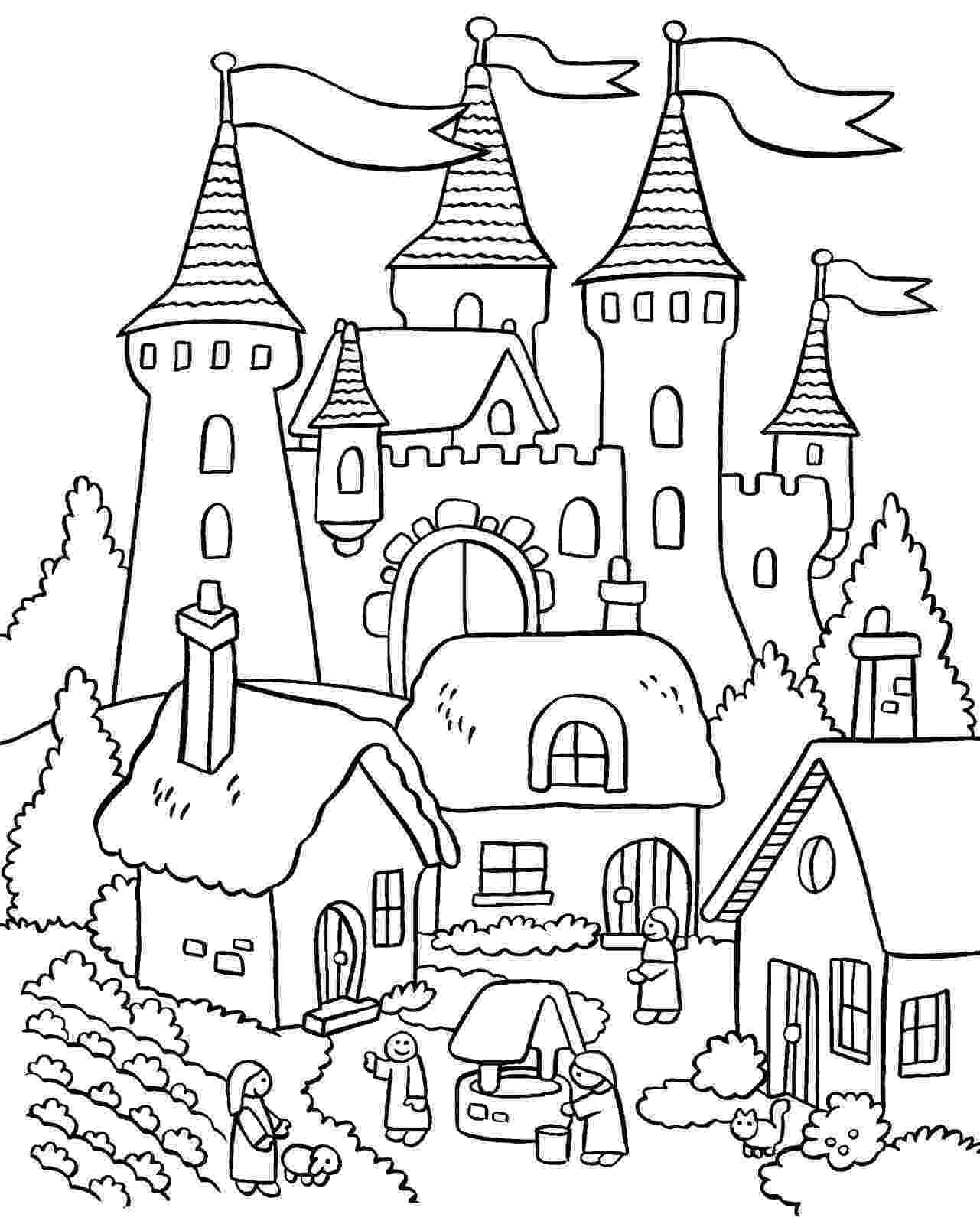 coloring pages house pin on colorings coloring house pages