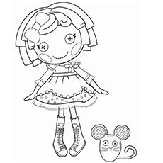 coloring pages lalaloopsy dolls lalaloopsy coloring pages for girls to print for free dolls lalaloopsy pages coloring