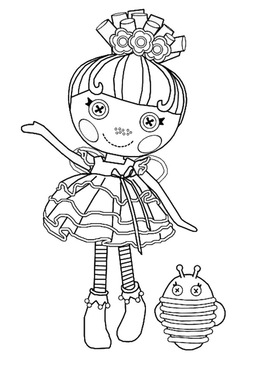 coloring pages lalaloopsy dolls lalaloopsy coloring pages for girls to print for free dolls pages lalaloopsy coloring