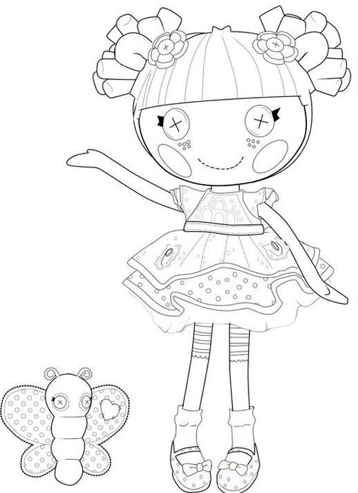 coloring pages lalaloopsy dolls lalaloopsy coloring pages free printables momjunction pages coloring dolls lalaloopsy