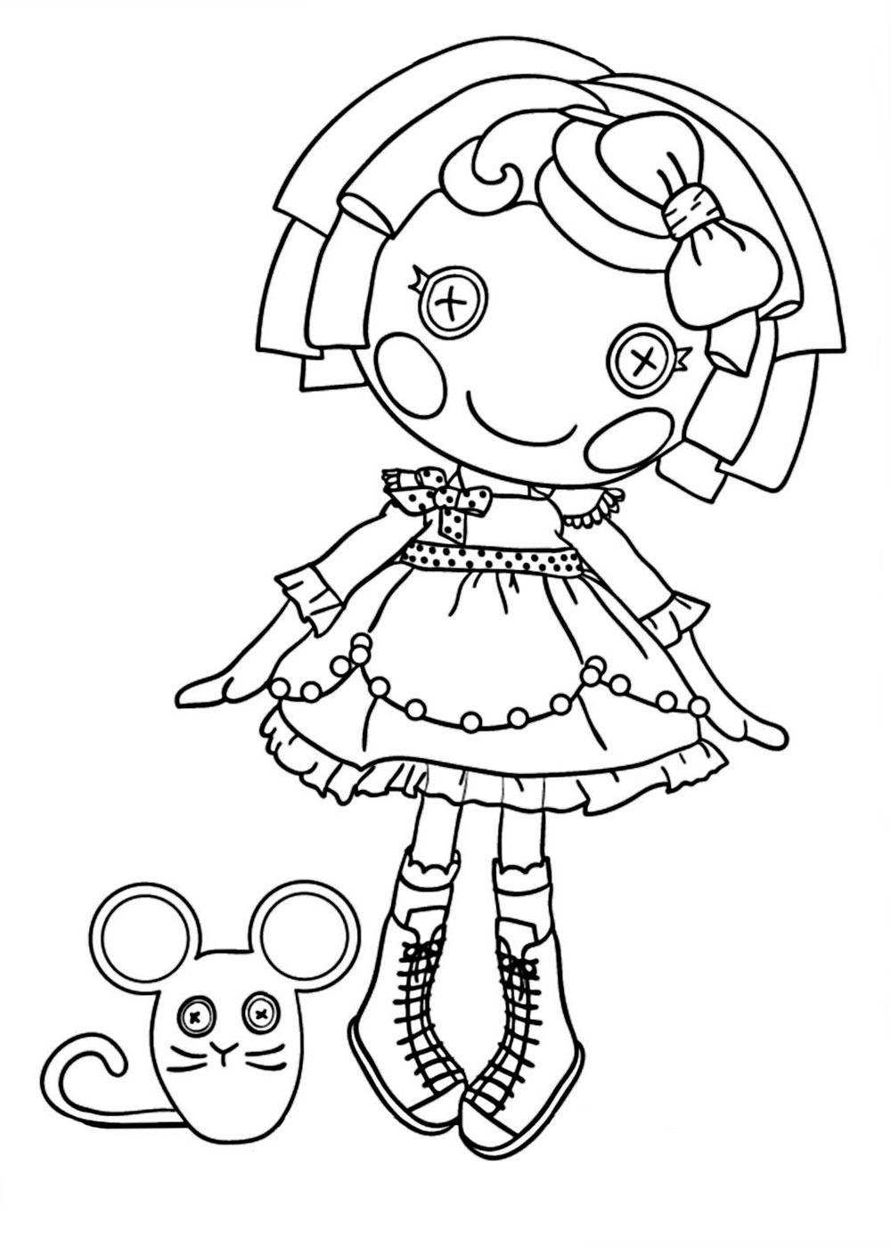 coloring pages lalaloopsy dolls lalaloopsy doll coloring pages coloring pages to pages lalaloopsy coloring dolls