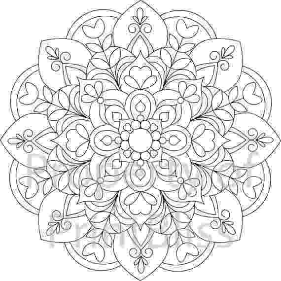 coloring pages mandalas 19 flower mandala printable coloring page mandalas coloring pages