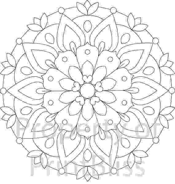 coloring pages mandalas 2 flower mandala printable coloring page coloring pages mandalas