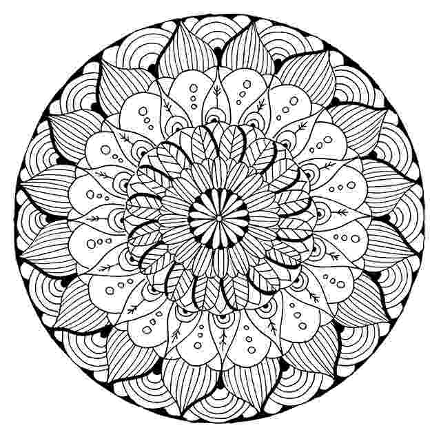 coloring pages mandalas kids the salty blog coloring mandalas pages