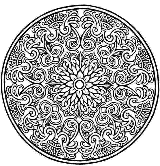 coloring pages mandalas mandala with a diamond pattern mandalas for advanced coloring mandalas pages