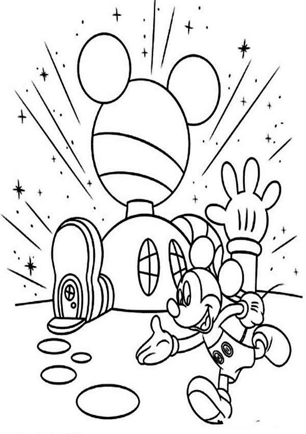coloring pages mickey mouse clubhouse 99 best coloring pages images on pinterest disney mouse coloring mickey pages clubhouse