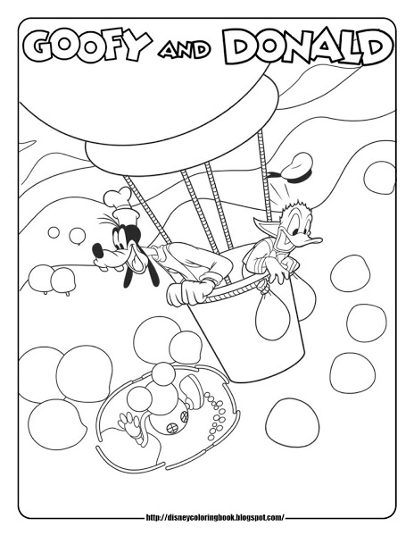 coloring pages mickey mouse clubhouse free printable coloring pages of hot air balloons mouse coloring mickey clubhouse pages
