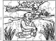 coloring pages naaman being healed 17 best images about naaman lèpreux on pinterest being naaman coloring healed pages