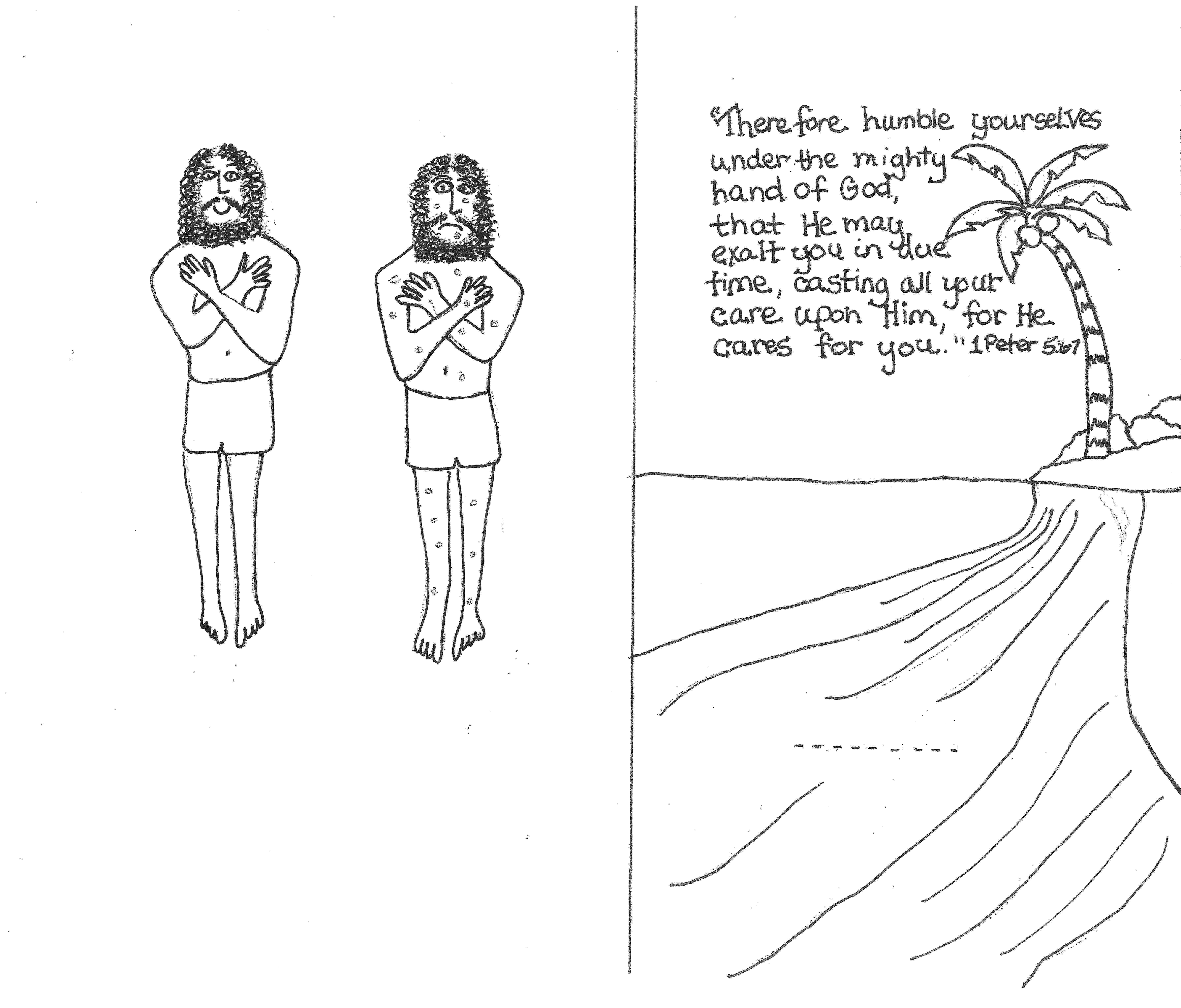 coloring pages naaman being healed 49 best images about bible elisha on pinterest jars pages being healed naaman coloring