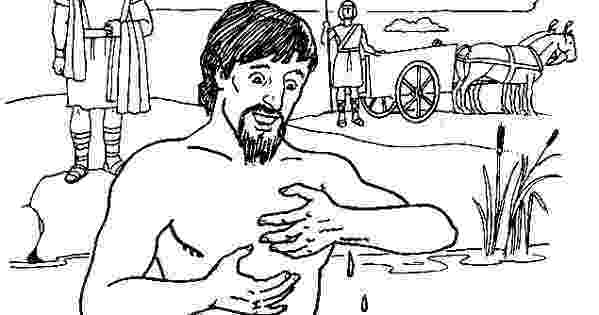 coloring pages naaman being healed naaman and the servant girl coloring pages naaman the being naaman pages healed coloring