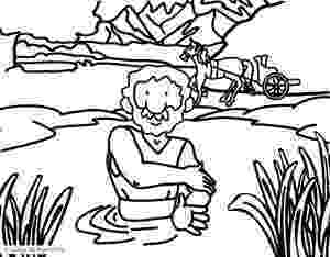 coloring pages naaman being healed naaman coloring page sunday school lessons preschool naaman coloring pages being healed
