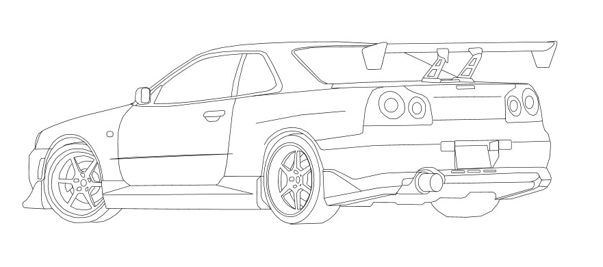 coloring pages nissan gtr 2005 nissan skyline coloring pages coloring pages coloring pages gtr nissan