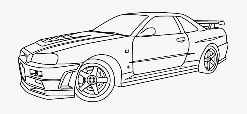 coloring pages nissan gtr 28 collection of nissan skyline gtr r34 coloring pages coloring gtr nissan pages