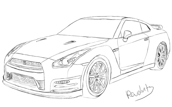 coloring pages nissan gtr categorycoloring wikimedia commons nissan pages gtr coloring