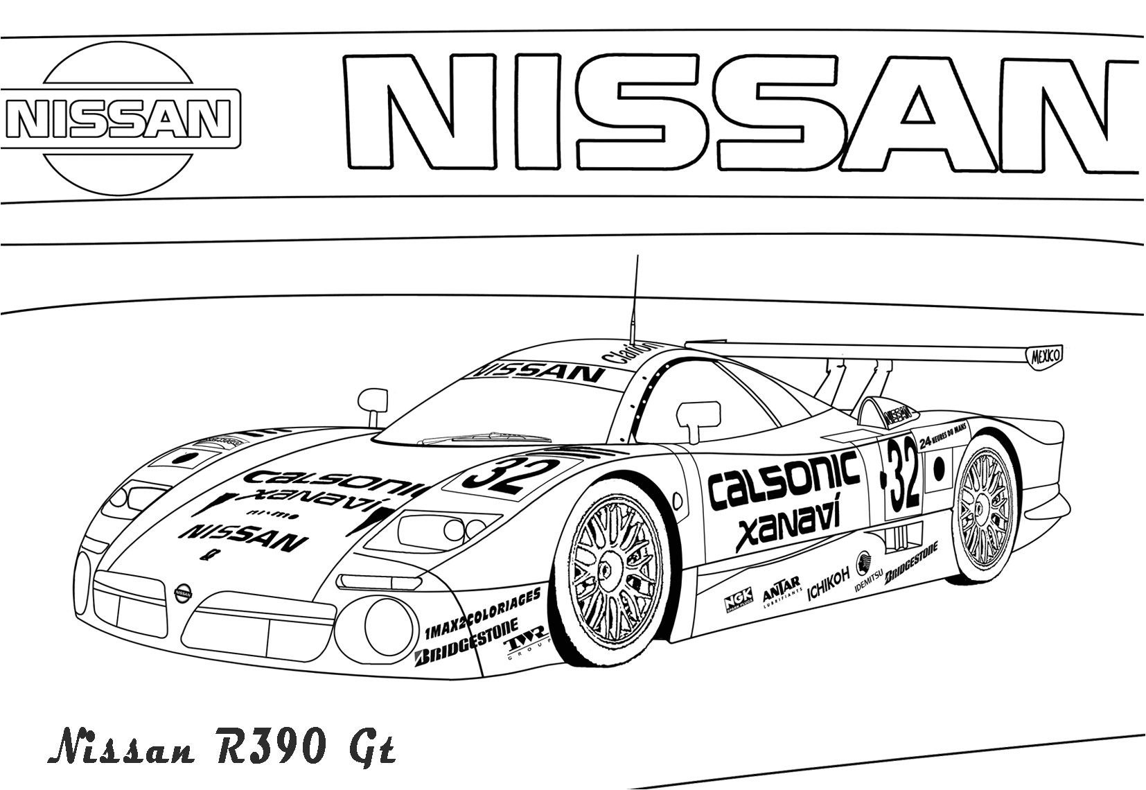 coloring pages nissan gtr nissan gtr red flaming ichijiku coloring nissan gtr pages