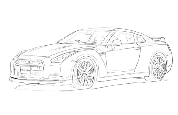 coloring pages nissan gtr nissan skyline by weskuh on newgrounds gtr pages nissan coloring