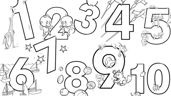 coloring pages numbers free printable color by number coloring pages best pages numbers coloring