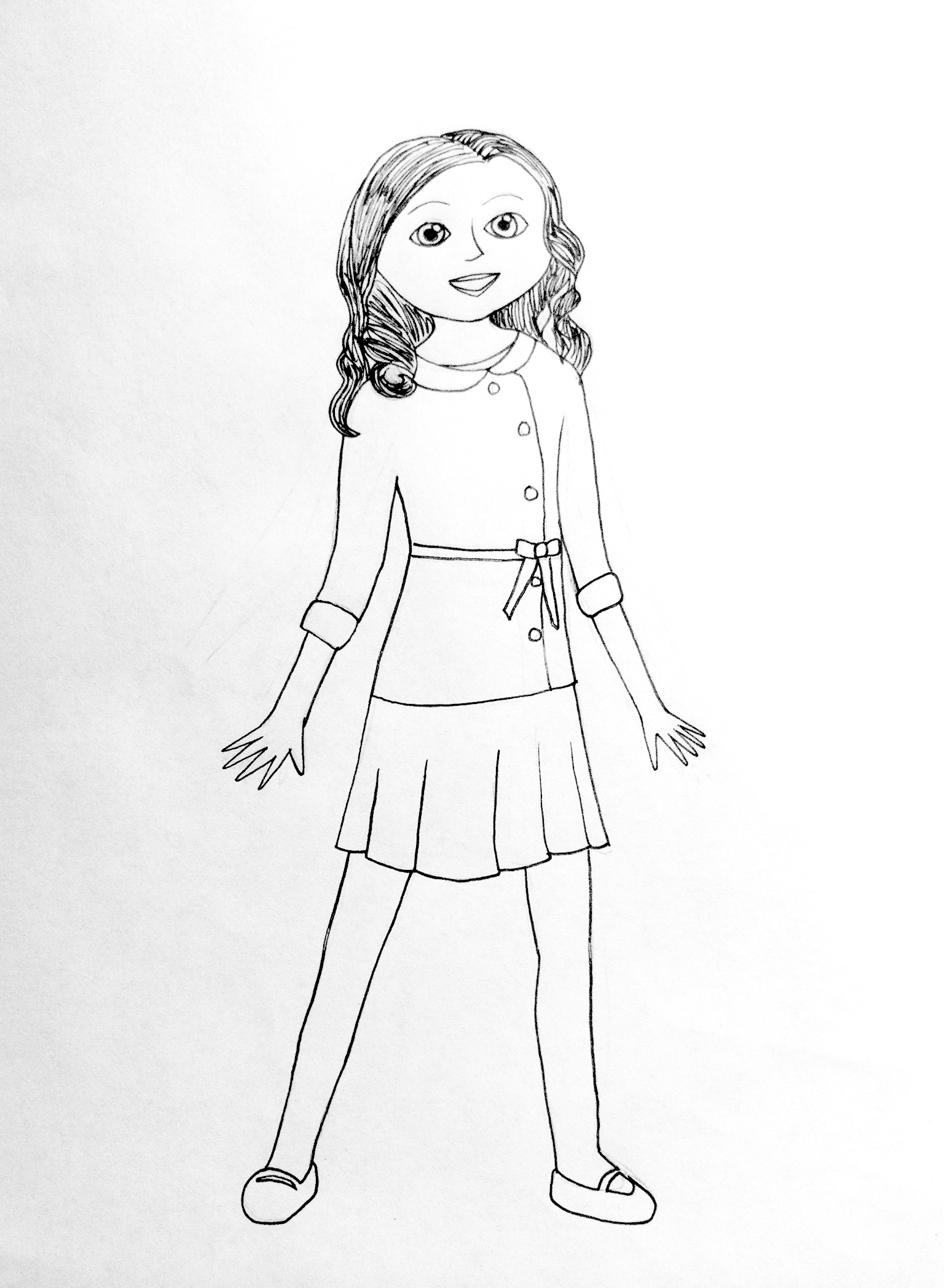 coloring pages of a girl american girl coloring pages best coloring pages for kids coloring pages girl a of