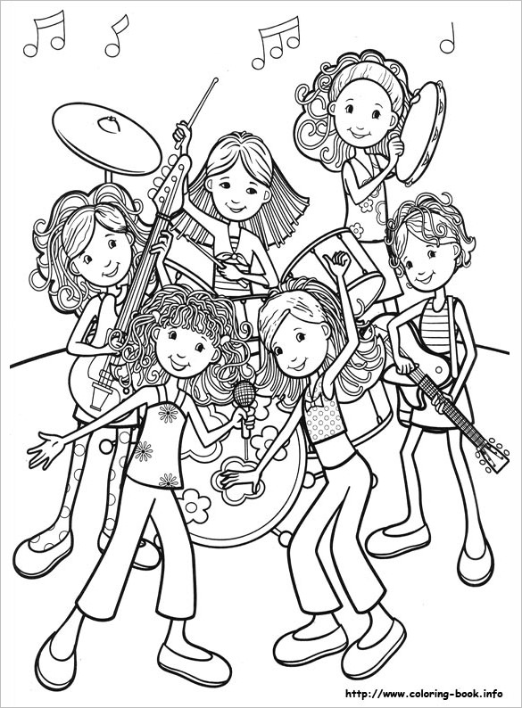 coloring pages of a girl coloring pages for girls 21 free printable word pdf girl a of coloring pages