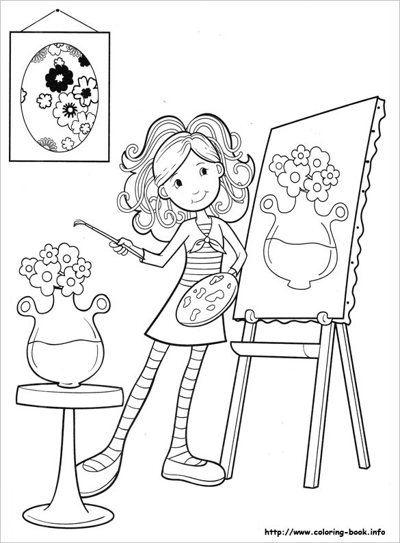 coloring pages of a girl coloring pages for girls 21 free printable word pdf of pages coloring a girl