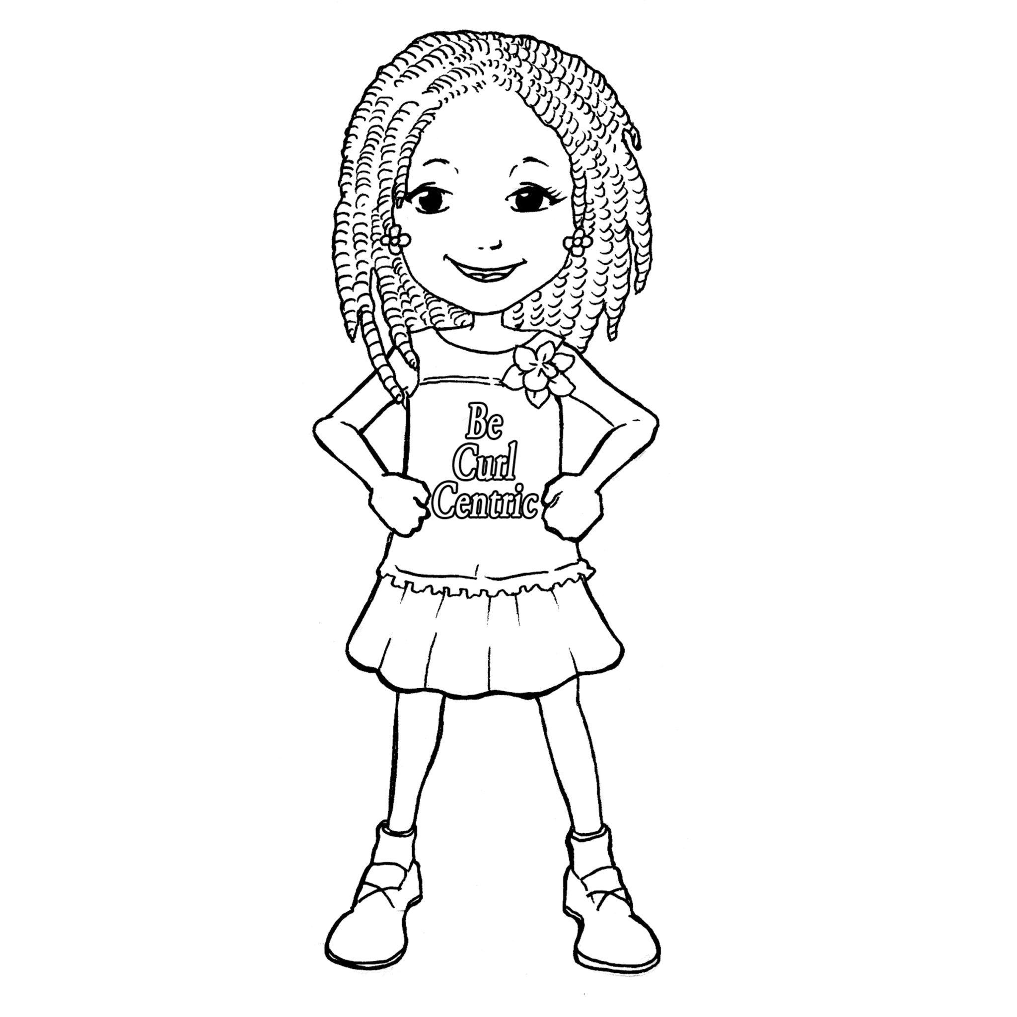 coloring pages of a girl cute girl coloring pages to download and print for free of a girl coloring pages