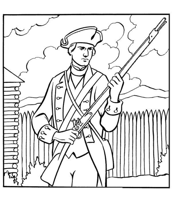 coloring pages of army soldiers revolutionary war drawing at getdrawingscom free for pages soldiers army coloring of