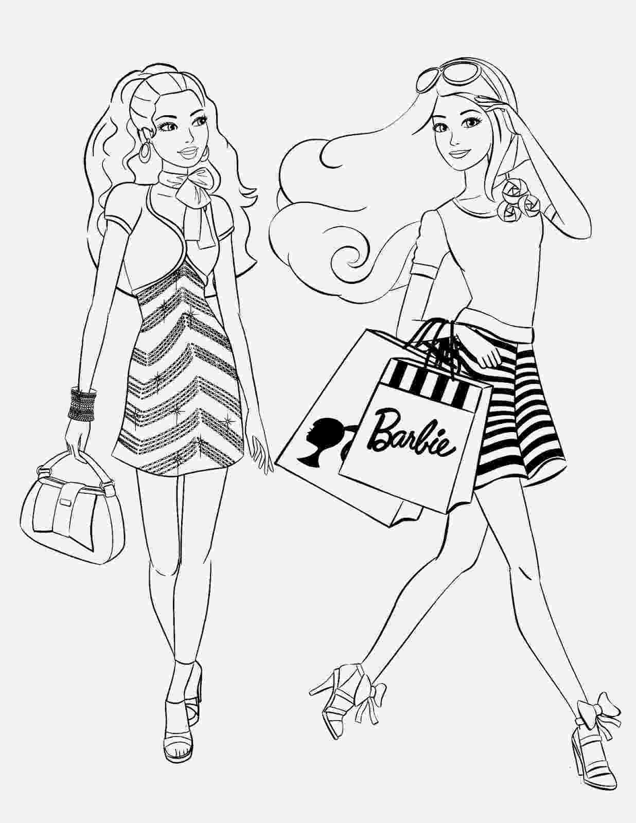coloring pages of barbie اشواق وحنين صور باربى بجودة عالية مرسومة وجاهزة للتلوين pages coloring barbie of
